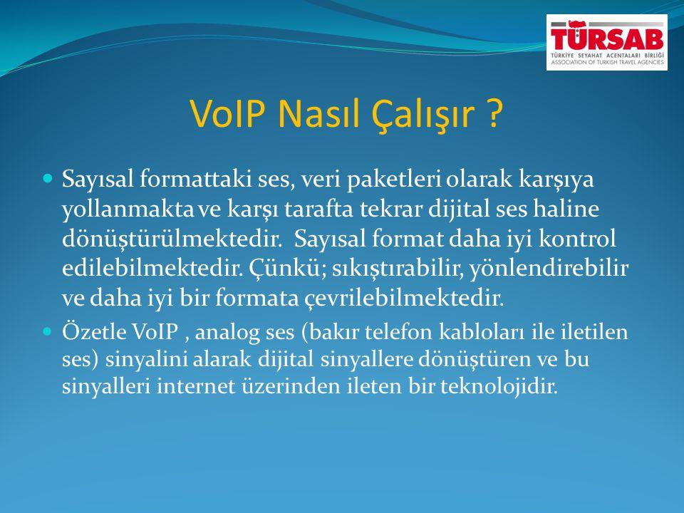 VoIP Nasıl Çalışır