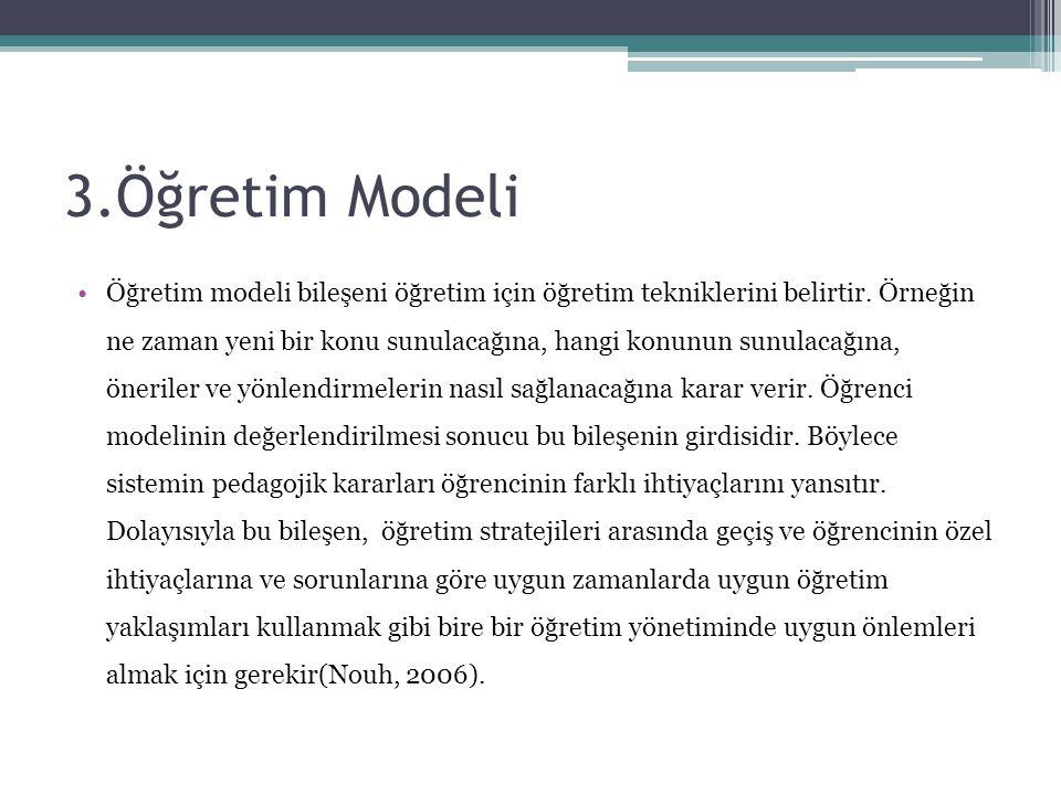 3.Öğretim Modeli
