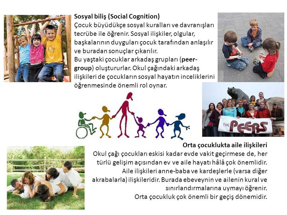 Sosyal biliş (Social Cognition)