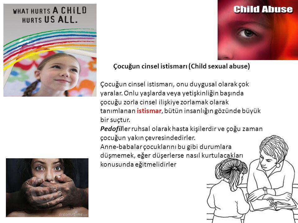 Çocuğun cinsel istismarı (Child sexual abuse)