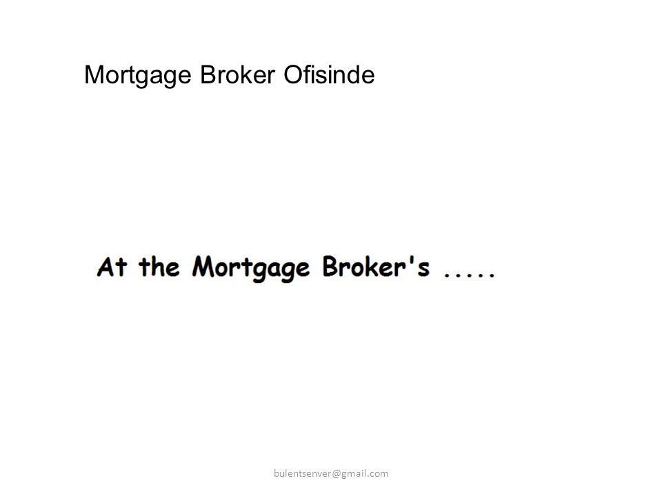 Mortgage Broker Ofisinde