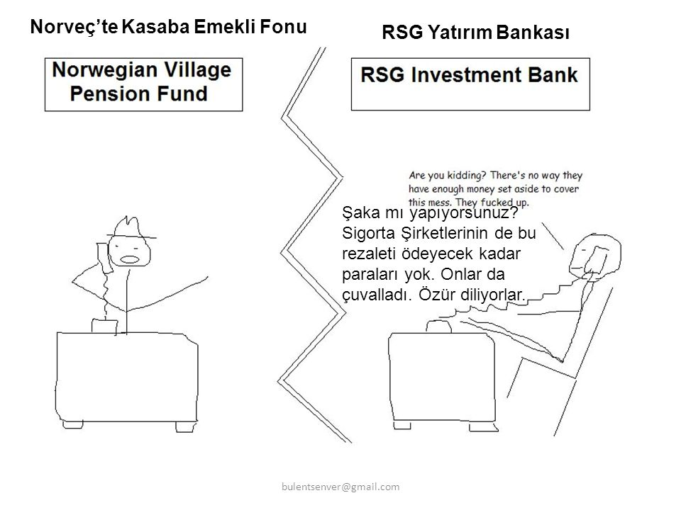 Norveç'te Kasaba Emekli Fonu RSG Yatırım Bankası