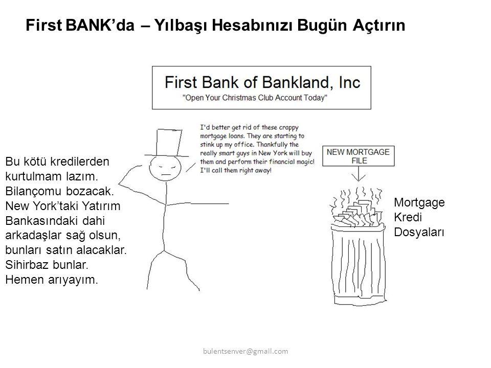 First BANK'da – Yılbaşı Hesabınızı Bugün Açtırın