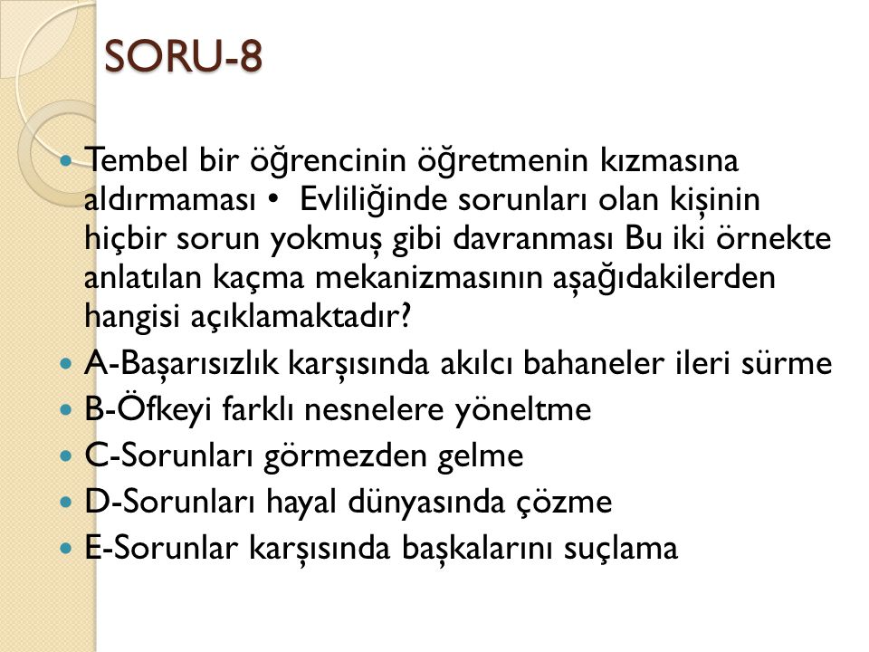 SORU-8