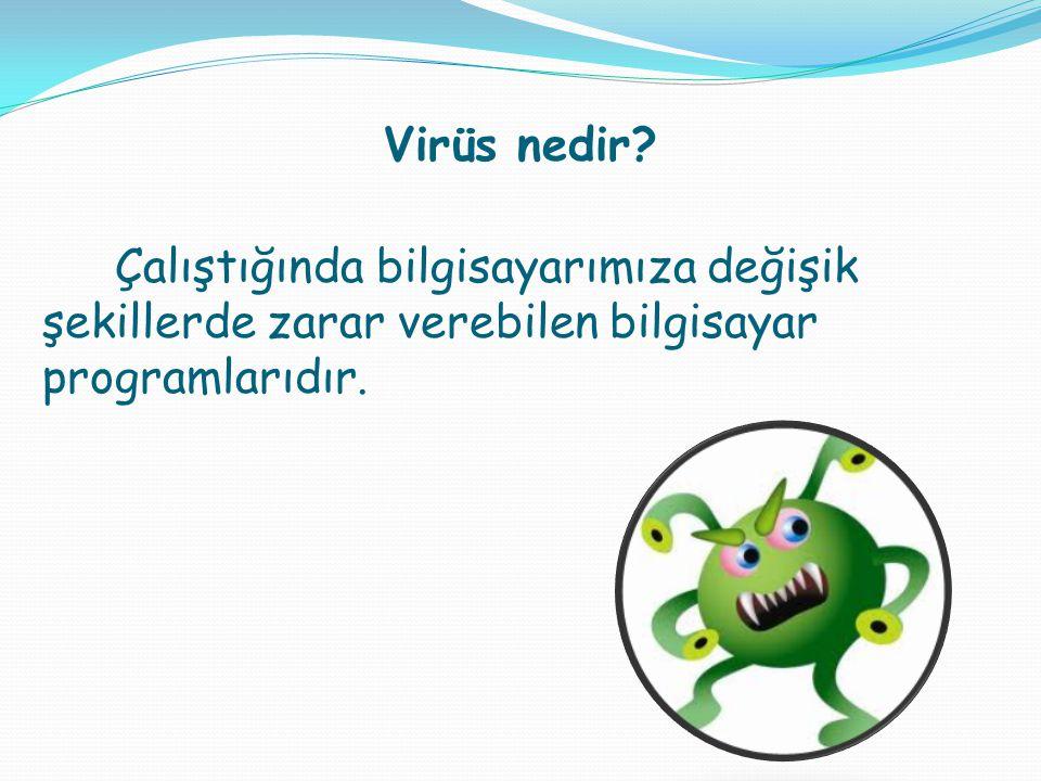 Virüs nedir.