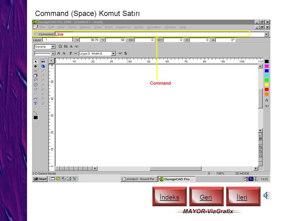 Command (Space) Komut Satırı