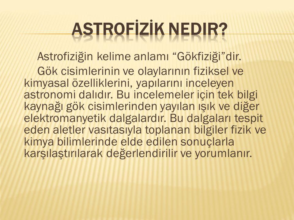 astrofİZİK Nedir