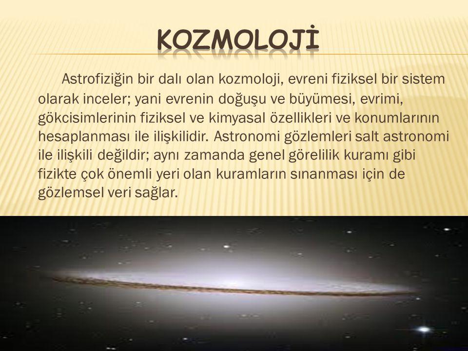 Kozmolojİ