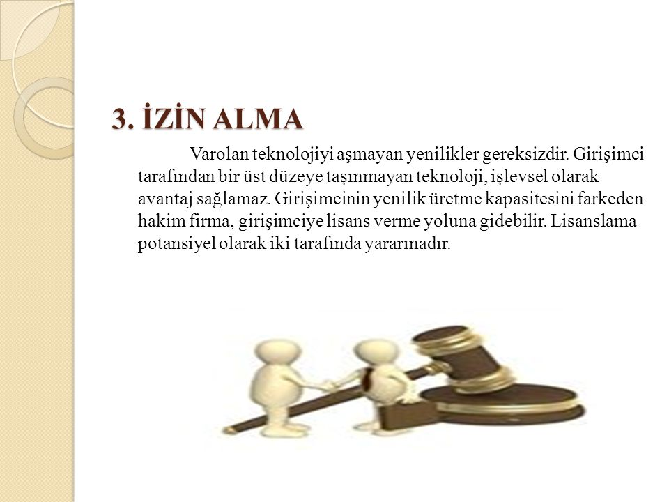 3. İZİN ALMA