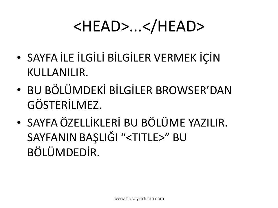 <HEAD>...</HEAD>