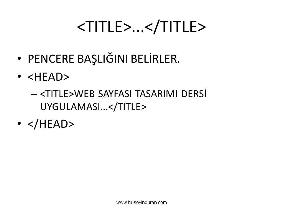 <TITLE>...</TITLE>