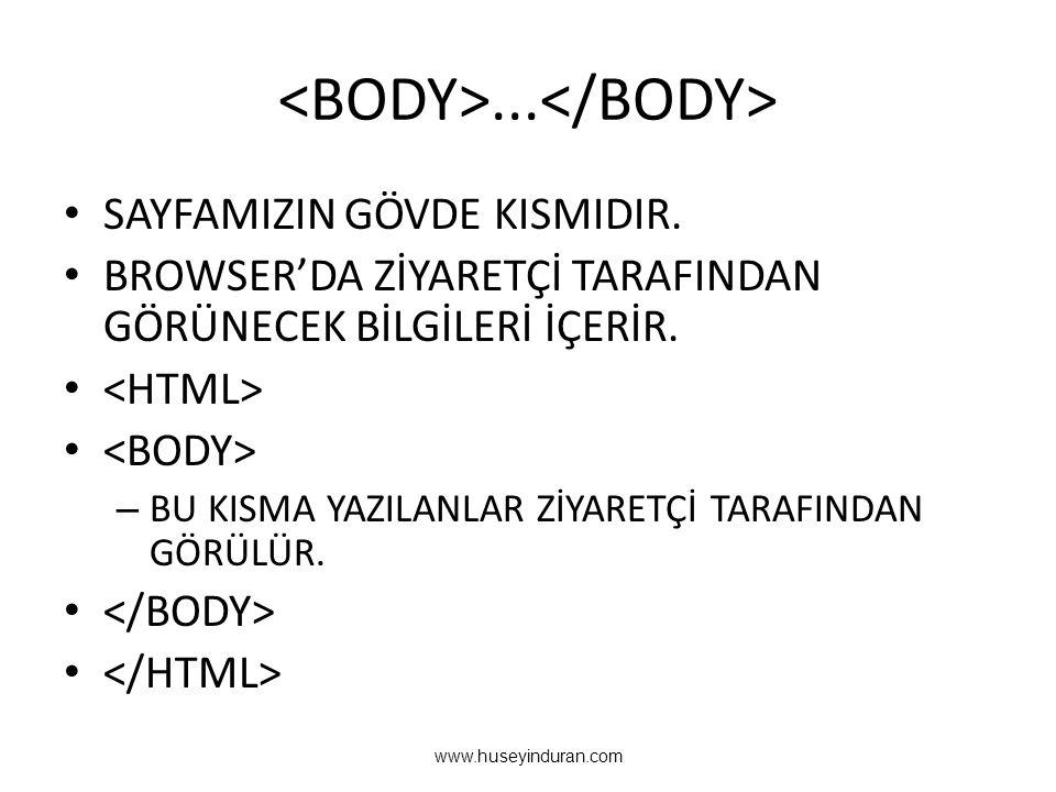 <BODY>...</BODY>