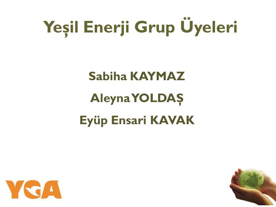 Yeşil Enerji Grup Üyeleri