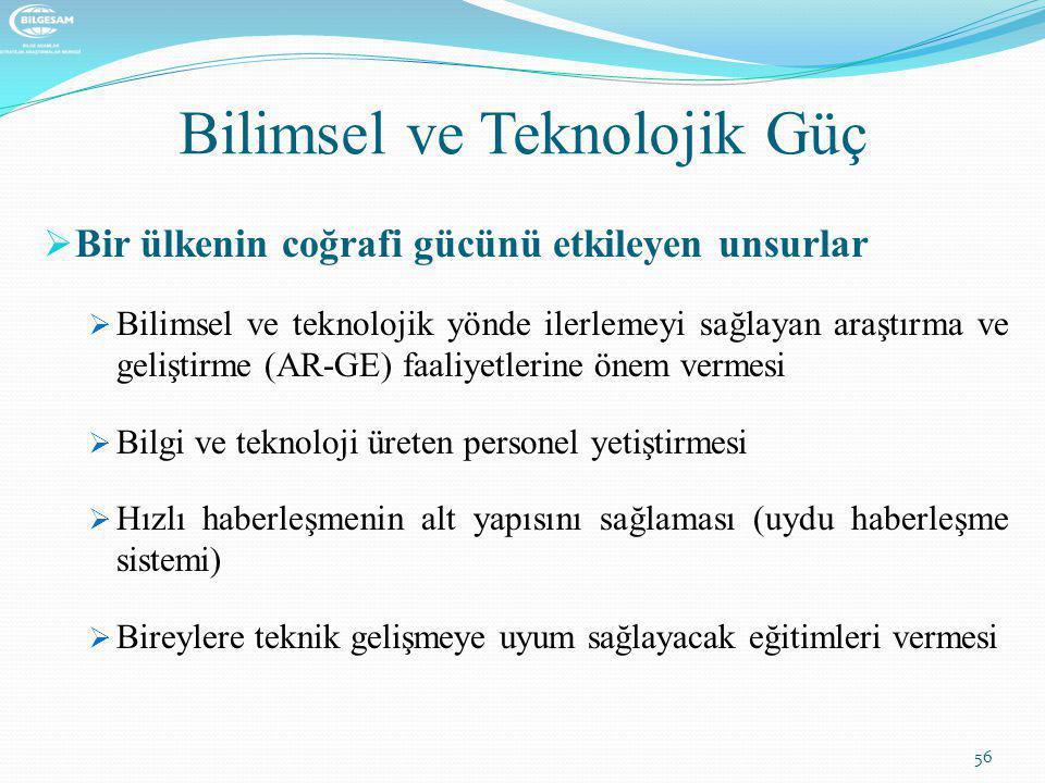 Bilimsel ve Teknolojik Güç
