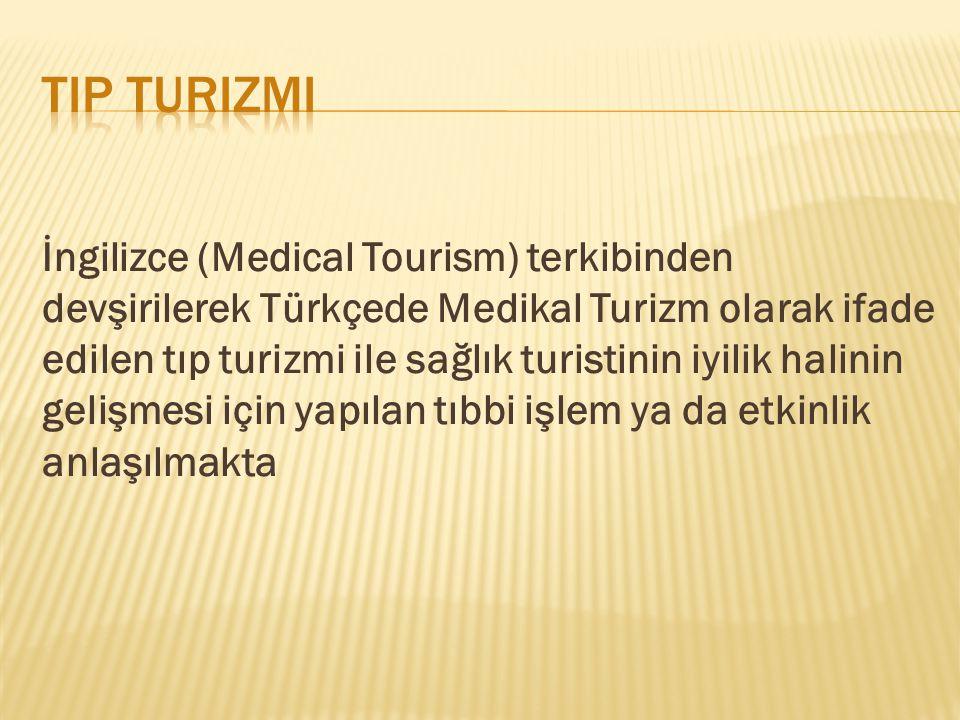 Tip turizmi