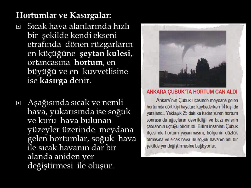 Hortumlar ve Kasırgalar: