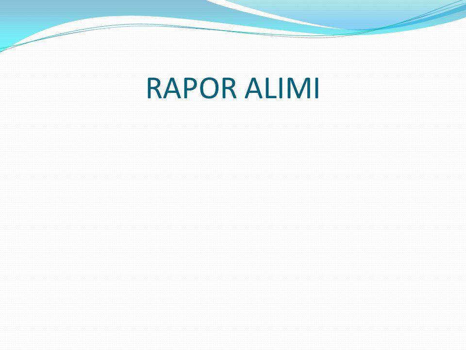 RAPOR ALIMI