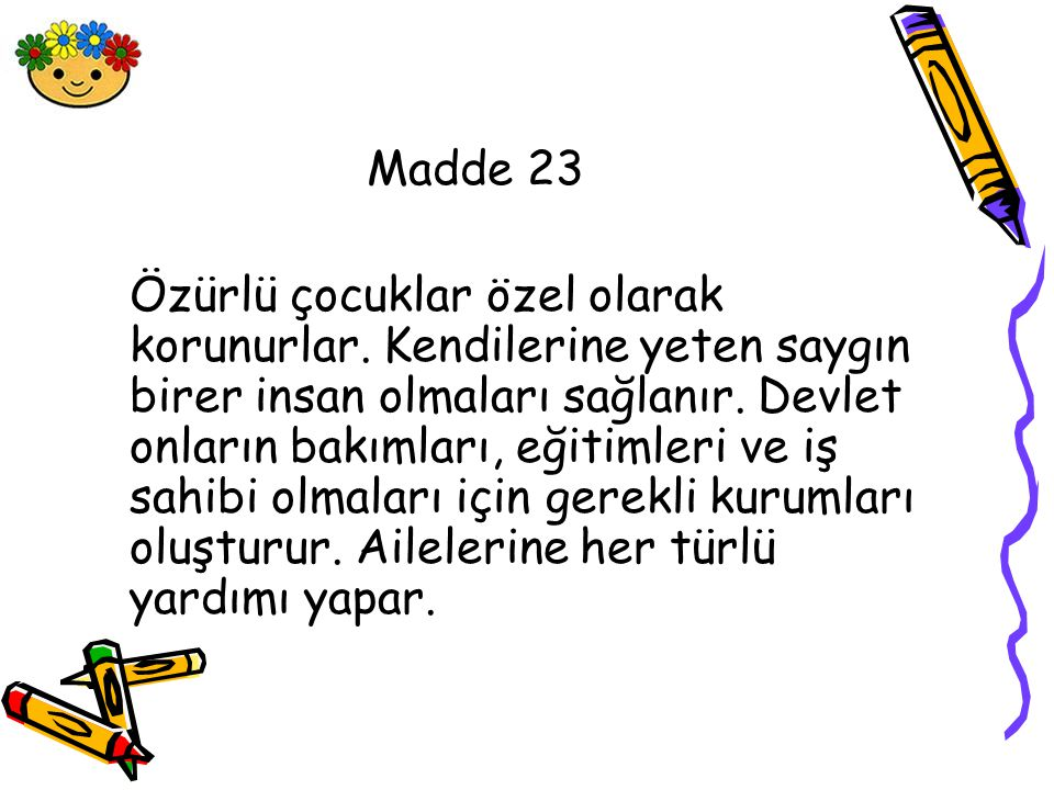 Madde 23