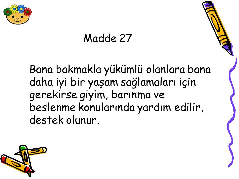 Madde 27