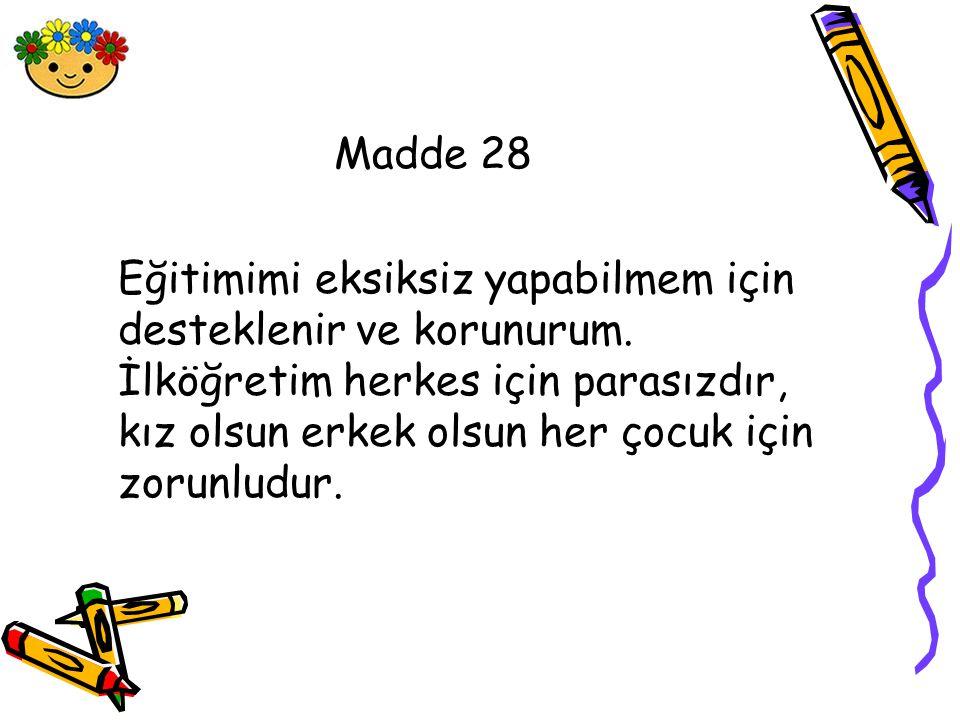 Madde 28