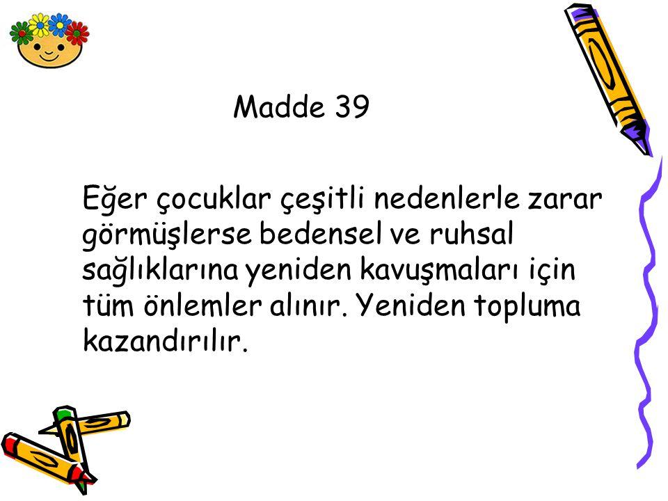 Madde 39
