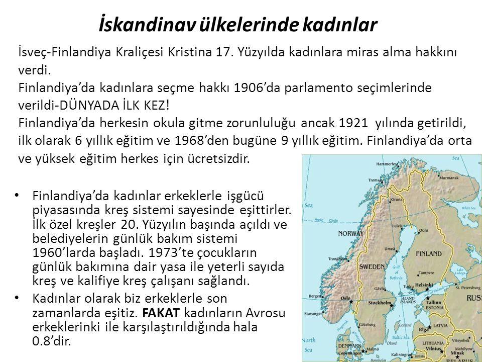 İskandinav ülkelerinde kadınlar