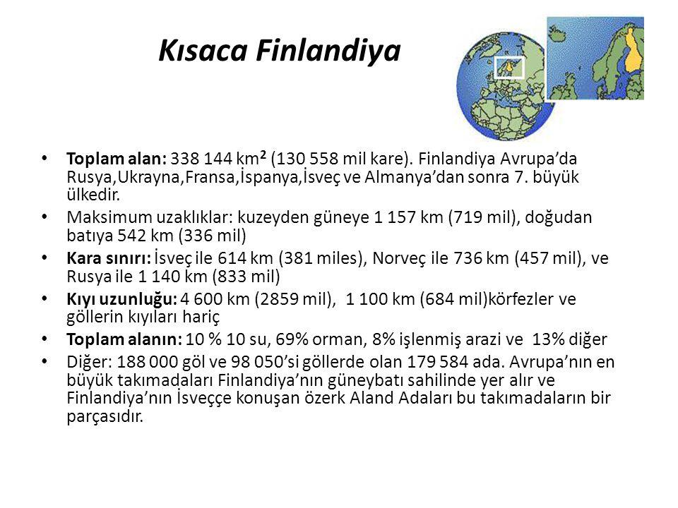 Kısaca Finlandiya