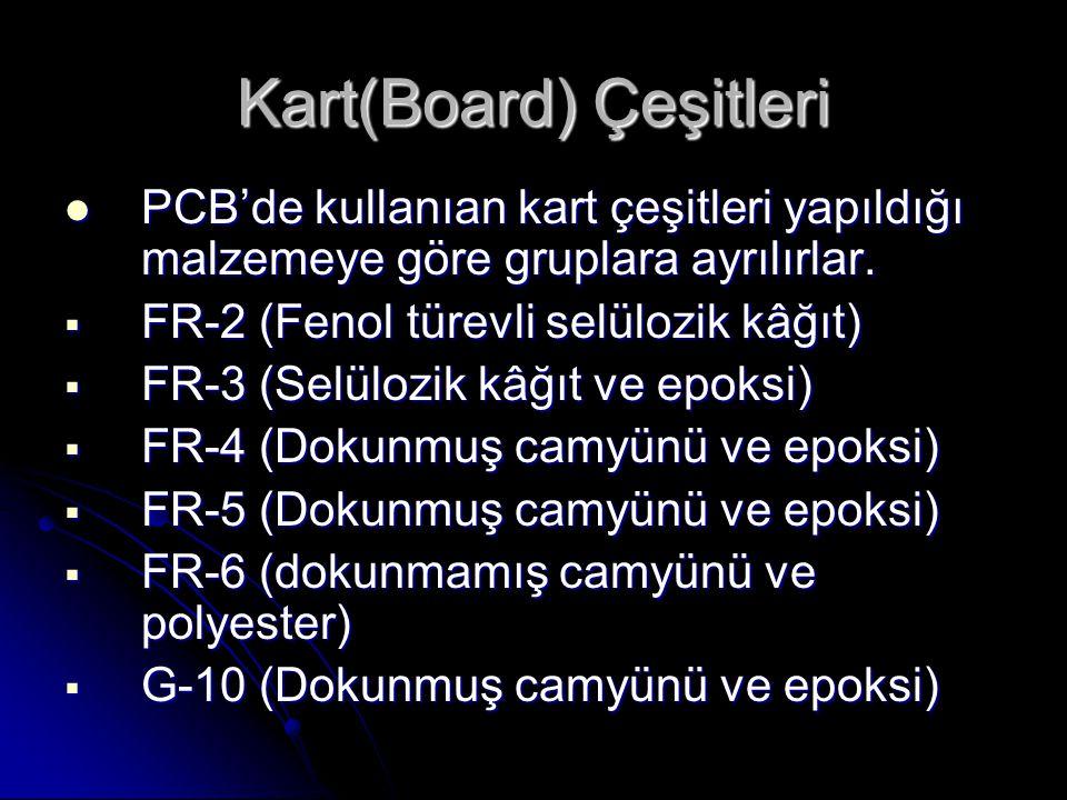 Kart(Board) Çeşitleri