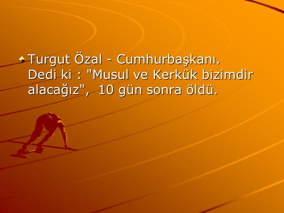 Turgut Özal - Cumhurbaşkanı