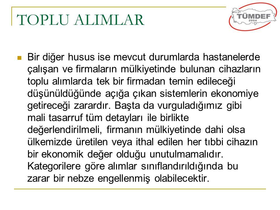 TOPLU ALIMLAR