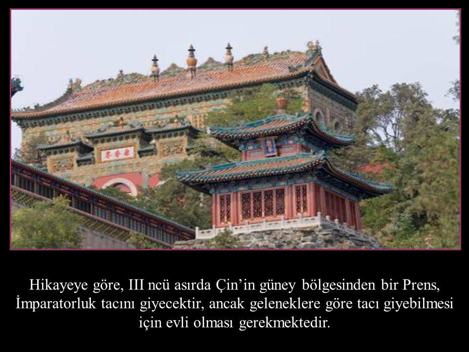 Hikayeye göre, III ncü asırda Çin'in güney bölgesinden bir Prens,