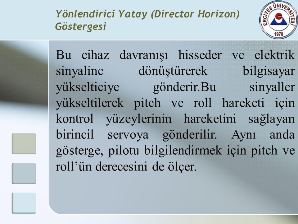 Yönlendirici Yatay (Director Horizon) Göstergesi
