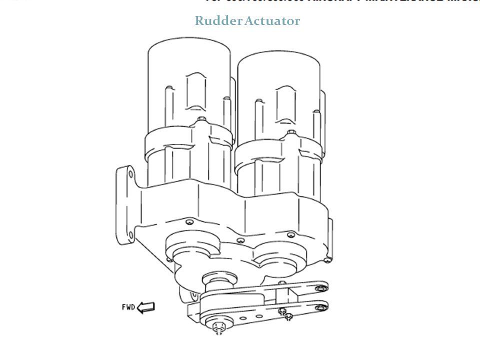 Rudder Actuator ACTUATORLER