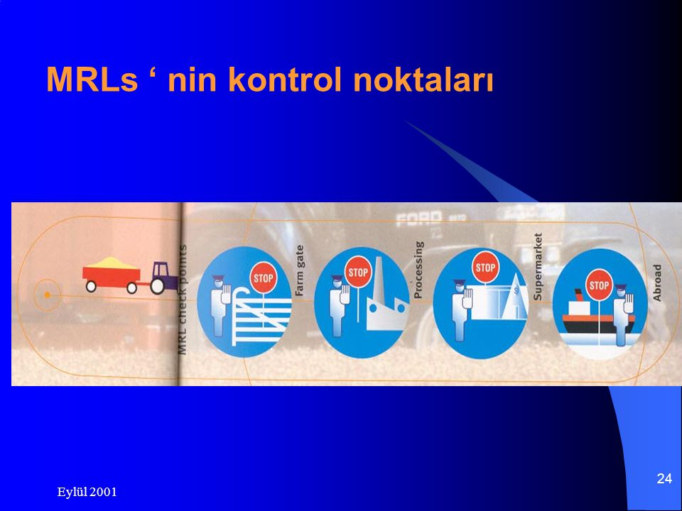 MRLs ' nin kontrol noktaları