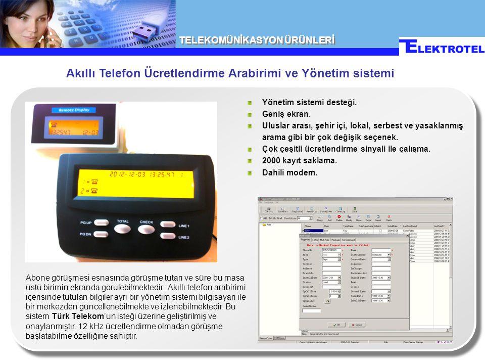 Akıllı Telefon Ücretlendirme Arabirimi ve Yönetim sistemi