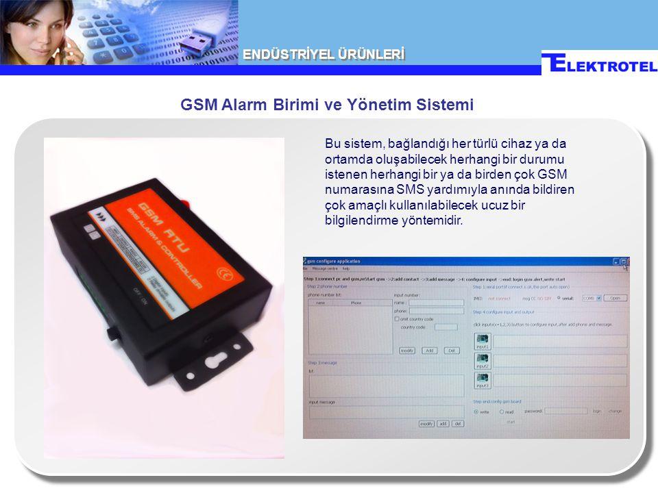 GSM Alarm Birimi ve Yönetim Sistemi