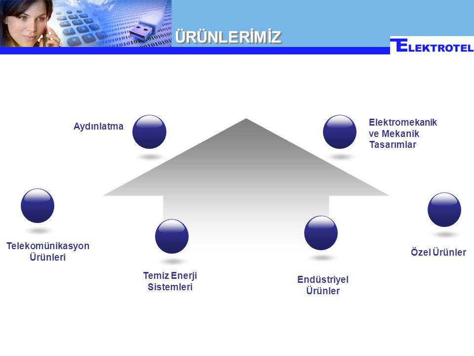 Telekomünikasyon Ürünleri Temiz Enerji Sistemleri