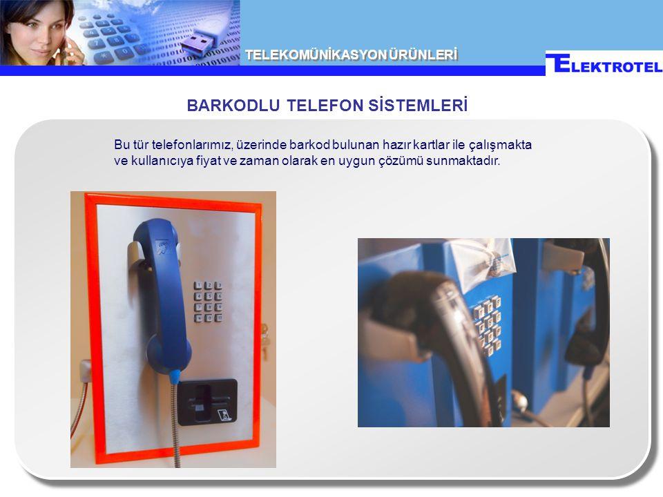 BARKODLU TELEFON SİSTEMLERİ