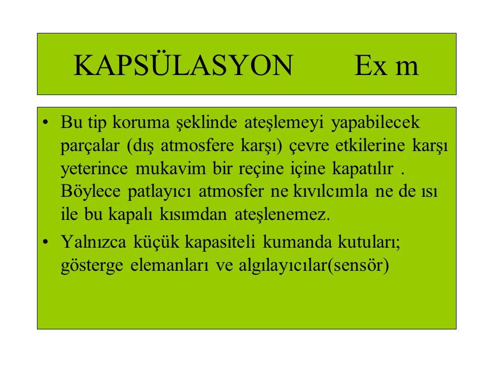 KAPSÜLASYON Ex m