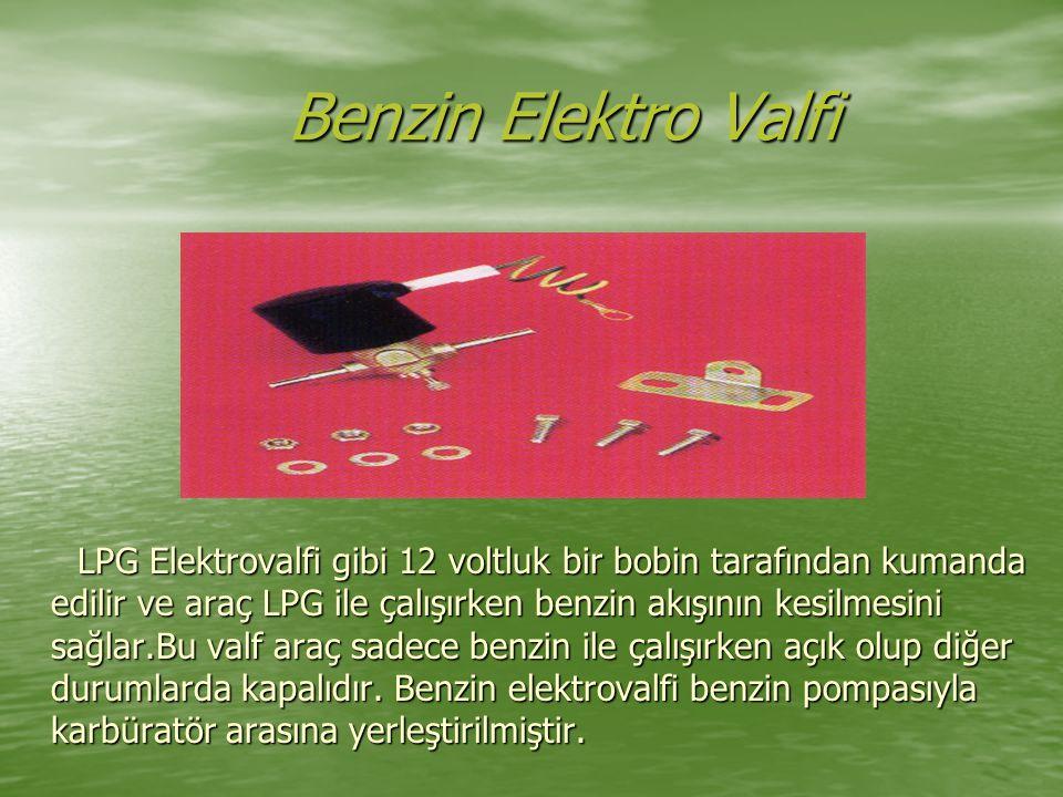 Benzin Elektro Valfi