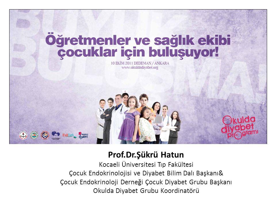 Prof.Dr.Şükrü Hatun Kocaeli Üniversitesi Tıp Fakültesi