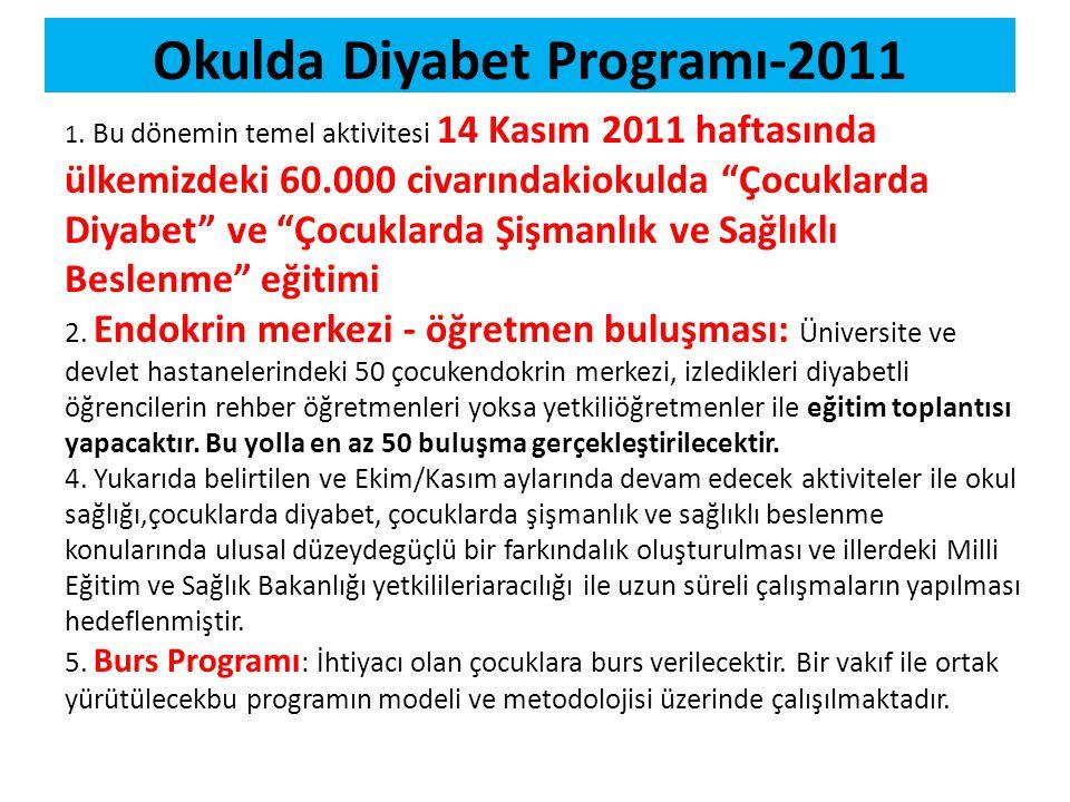 Okulda Diyabet Programı-2011
