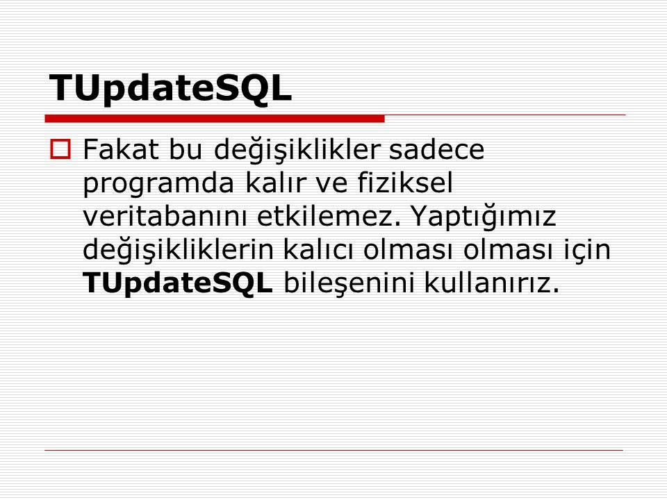 TUpdateSQL