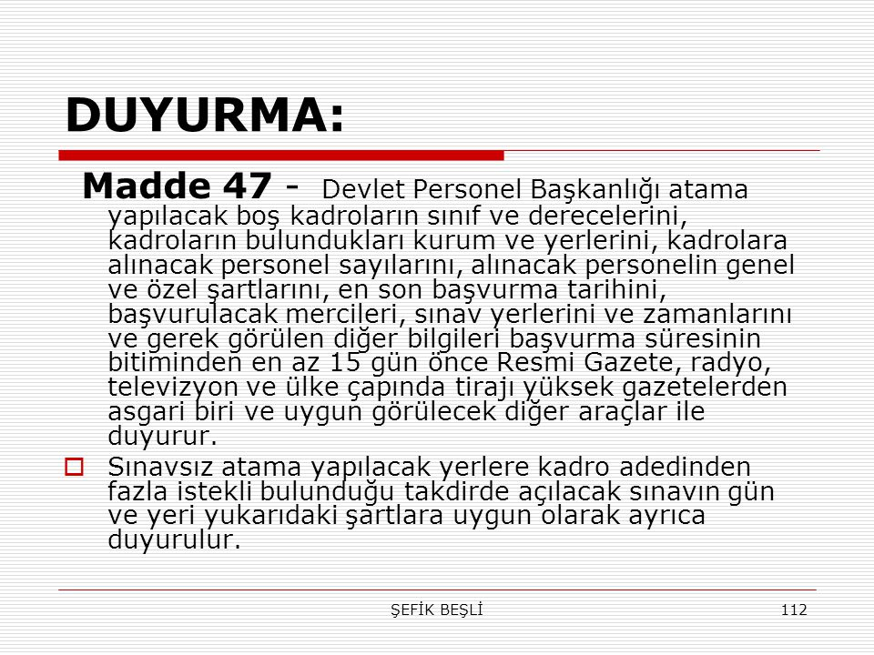 DUYURMA: