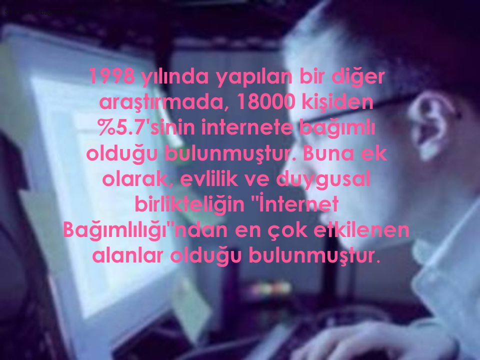 Siz internet bağımlısı mısınız