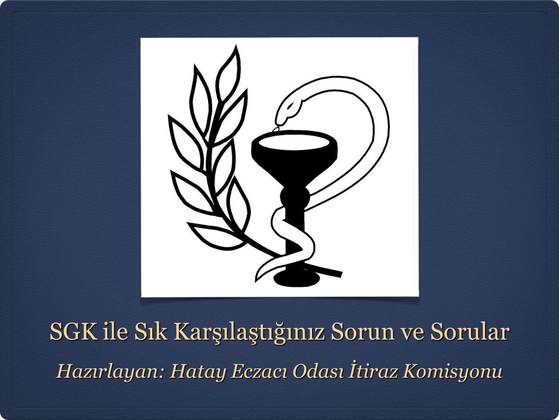 SGK ile Sık Karşılaştığınız Sorun ve Sorular