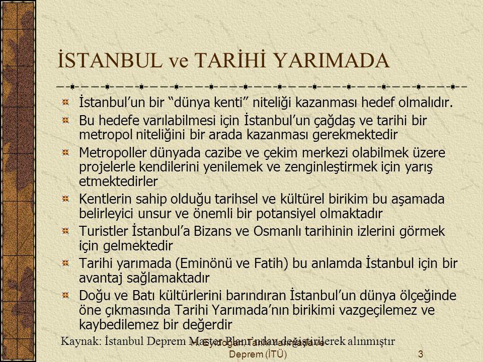 İSTANBUL ve TARİHİ YARIMADA
