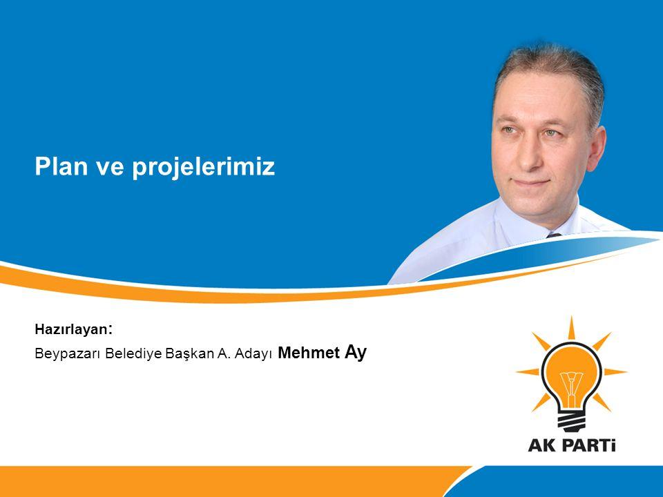 Plan ve projelerimiz Mehmet Ay Hazırlayan: