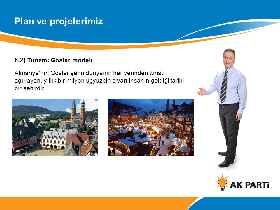 Plan ve projelerimiz 6.2) Turizm: Goslar modeli