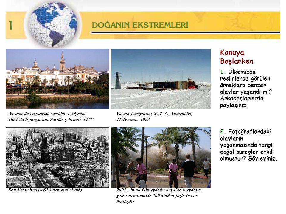 Konuya Başlarken 1. Ülkemizde resimlerde görülen örneklere benzer olaylar yaşandı mı Arkadaşlarınızla paylaşınız.